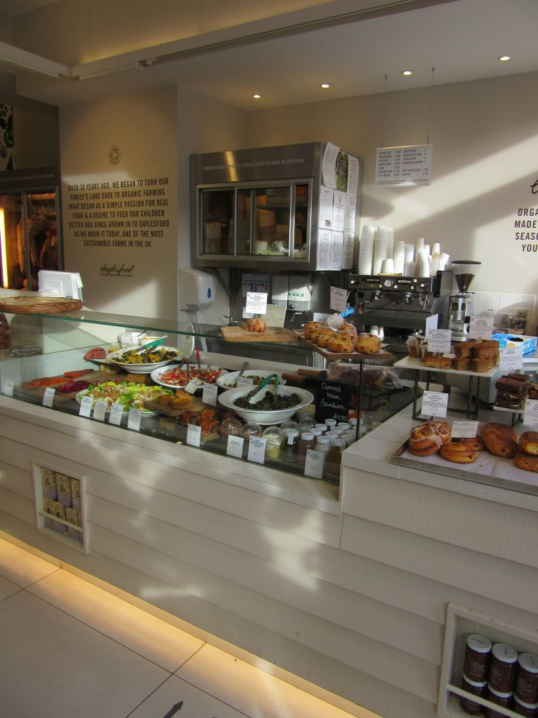 Daylesford organic notting hill new refrigerated