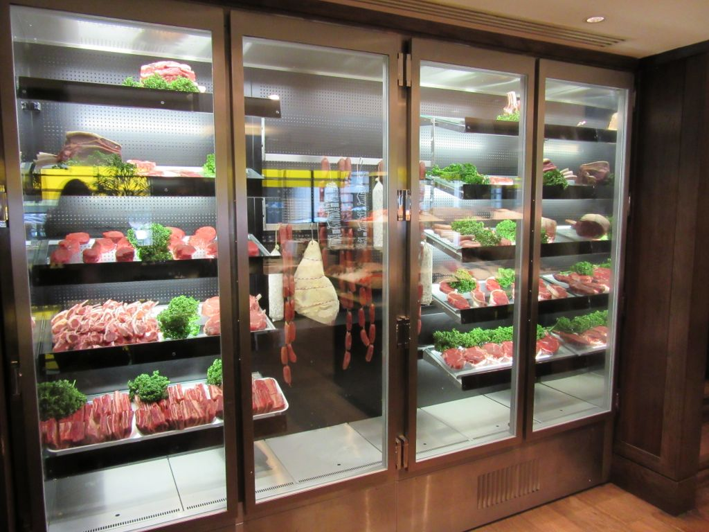 Smiths Retail Design Were Brought In To Design And Install An Eye Catching  Meat Hanging Display Cabinet From Which Customers Can Choose Their Own Cuts  Of ...